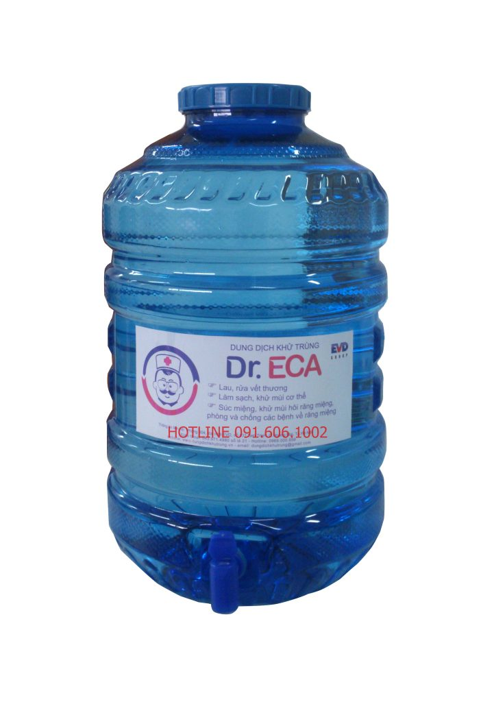 Can 5 gallon dung dịch Dr.ECA